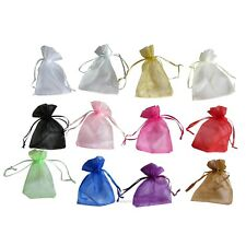 NEW Organza Bags x100 9x12 cm Wedding Favours Bomboniere Gift Pouches Jewellery
