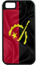Rikki Knight Angola Flag TOUGH-IT Case for iPhone 4/4s, 5/5s
