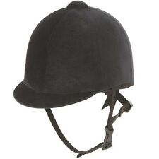 SHIRES HORSE RIDING HAT/HELMET EQUESTRIAN BLACK NEW