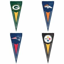 Choose Your NFL Team Applique Embroidered Yard & Wall Pennant Flag Banner