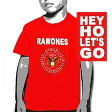 OFFICIAL Ramones - Classic Eagle Red YOUTH T-shirt NEW LICENSED Kids Merch All S