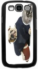 Rikki Knight Bulldog in Football Gear Case for Samsung Galaxy S3 S4 S5