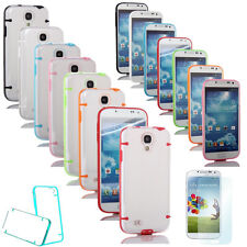Ultra-Thin Soft Gel Skin Hard Case Cover For Samsung Galaxy S4 S 4 IV i9500 Film