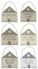 Wooden Hanging Sign/Plaque. Home Sweet Home/Where Your Heart Is/Cat/Dog/Mum Gift
