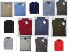 NWT New Polo Ralph Lauren CUSTOM FIT MESH Solid Shirt  Asst. Colors S M L XL XXL