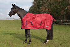 """Rhinegold Torrent Lightweight Turnout Rug 10 Colours 4'6""""-7'0"""" + Worldwide P&P"""