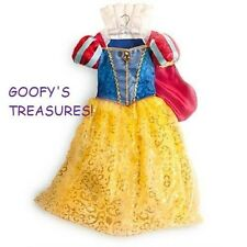 NWT DISNEY STORE SNOW WHITE DRESS GOWN COSTUME GIRLS ALL SIZES!