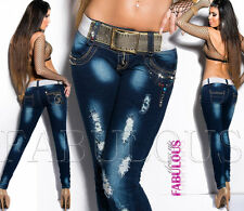 Womens Jeans size 10 Ladies Washed Jeans All Sizes Available