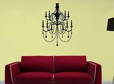 CHANDELIER ~ WALL DECAL Quotes * Vinyl Lettering STICKER ~ ANY COLORS