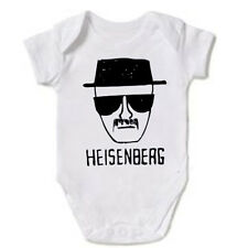 HEISENBERG BREAKING BAD WALTER WHITE BABY GROW ONSIE BODYSUIT VEST GIFT