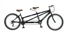 "Viking Saratoga Tandem Bike Bicycle 26"" Wheels 21 Speed Alloy Frame Unisex Black"