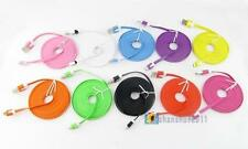 3M Color Noodle Flat Micro USB to USB 2.0 5 Pin Data Sync Cable For Cellphone SS