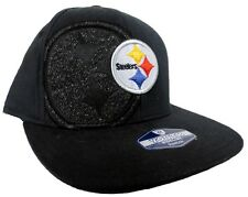 Pittsburgh Steelers NFL YOUTH Reebok Sideline Player Onfield Black Fitted Hat