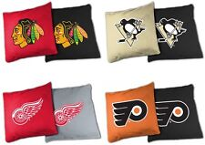 Choose Your NHL Team Tailgate Toss XL Platinum 16oz. Bean Bag Set - 8 Bag Set