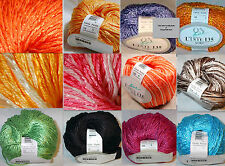 Online Yarn Linie 135 Goby Cotton Blend Color Choice Loom Knit Crochet Free Ship