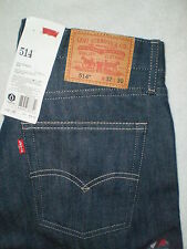 Levis 514 Mid Slim Fit Straight Leg Jeans Mens Size 32 X 30 | 34 X 30 New $58