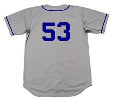 DON DRYSDALE Brooklyn Dodgers 1957 Majestic Cooperstown Away Baseball Jersey