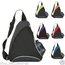 MONO STRAP SCHOOL BAG - TRIANGLE ONE STRAP RUCKSACK/BACKPACK - COLLEGE,WORK