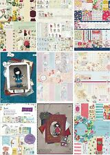 PAPERMANIA A4 ULTIMATE DECOUPAGE DIE CUT & PAPER PACKS 80 PROJECTS EACH SET