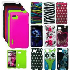 Phone Case For T Mobile LG Optimus F3 Hard Cover MS659
