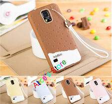 Fruit Strawberry Icecream TPU Back Case Cover for Samsung Galaxy S5 SV G900