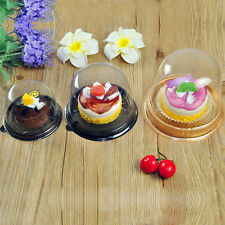 Plastic Dome Takeout Container Cupcake Cookie Favor Cake Wedding/Party/Holiday