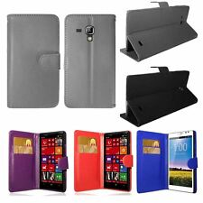 New PU Leather Wallet Stand Flip Case Cover For Samsung Galaxy/Nokia/HTC/Huawei