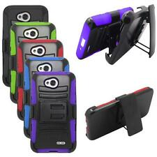 Phone Case For LG Optimus L90 Holster Belt Clip Rugged Hard Cover Stand