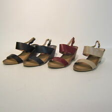 LADIES EAZE FOR COMFORT WEDGE SANDLES IN 4 COLOURS STYLE F10263