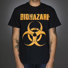 OFFICIAL Biohazard - Distressed Logo T-shirt NEW Licensed Band Merch ALL SIZES