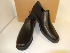 NEW COLE HAAN AIR STYLAR TWO GORE BLACK LEATHER BICYCLE TOE LOAFERS W/ NIKE AIR