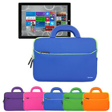 "Handle Carrying Portfolio Sleeve Case Bag For Microsoft Surface Pro 3 12"" Tablet"