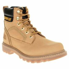 New Mens Caterpillar Honey Stickshift Nubuck Boots Work Lace Up DLS