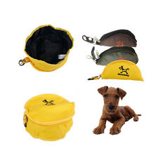 Pet Dog Cat 4 Pint Collapsible Foldable Camping Travel Bowl Portable Food Feeder