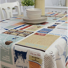 Casual Colorful Fabric Tablecloth Table Cover Cloths Craft Fabric Table linen
