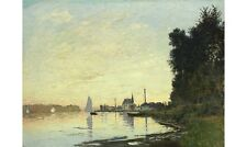 """CLAUDE MONET """"Argenteuil, Late Afternoon"""" CANVAS print! various SIZES, BRAND NEW"""
