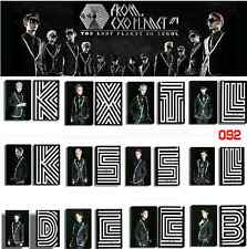 12X EXO-M EXO-K Photo Card New Album Song Overdose PVC Cards Korea Seoul Concert