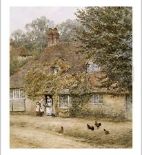 "HELEN ALLINGHAM ""The Old Fish Shop, Haslemere"" CANVAS! various SIZES, BRAND NEW"