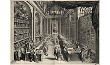 MODERN canvas print of old engraving Natural History Collection LEVINIUS giclee