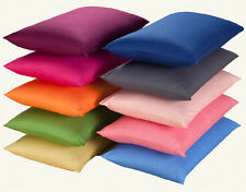 Solid Soft Silk Satin Pillow Cases Queen/Full Size 48*74cm Satin Multiple color