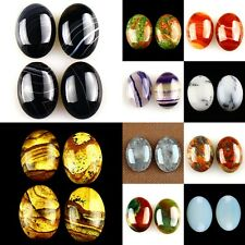 25mm Oval flatback Cabochon CAB Ring Face Jasper Gemstone Accessory Wholesale