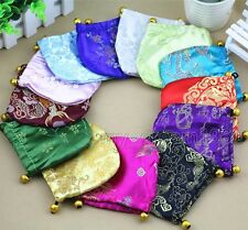 Wholesale 5/10/20/30/50/100 Chinese Brocade Bag/Purse Silk Gift Bags jewelry Bag
