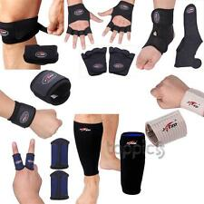 Sports Velcro Wrist Elbow Ankle Finger Knee Leg Elastic Brace Support Wrap Strap