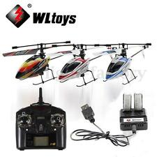 WLtoys Upgraded V911 4CH 2.4G Mini Radio Single Propeller RC Helicopter GYRO RTF