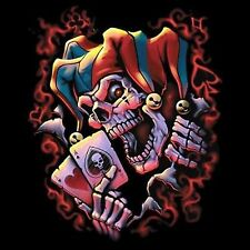 Big Wicked Jester in Your Face Pick Your Size Ladies or Mens Tank Top