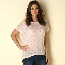 Qed London Neon Studded Top In Pink From Get The Label
