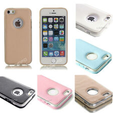 Shockproof Dirt Dust Proof Hard Leather Cover Case For iPhone 5 5S