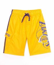 Los Angeles Lakers Logo Youth Swim Trunks Boardshorts NWT Cool Surf