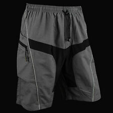 Bicycle Polyester +Coolmax Pants New Loose Fit Cycling Shorts Padded Bike Short