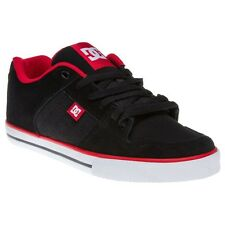 New Mens DCs Black Course Suede Trainers Skate Lace Up